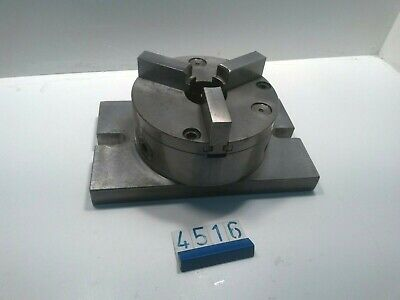 3 Jaw Chuck On 25 X 15 Cm Clamping Base (4484) • 50£