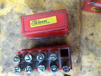 England PRIORITY Size 5/16  8.0mm Number Punch Fig Set . Missing No. 3 • 19.13£