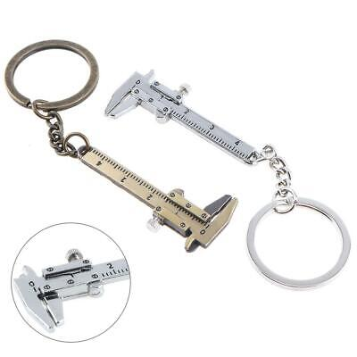 Portable Mini Vernier Caliper Micrometer Measure Tool Gauge Ruler 40mm Keychain • 2.29£