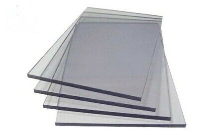 A4 Clear Acrylic Sheet Perspex Plexiglass Plastic Cut Panel Material • 9.59£