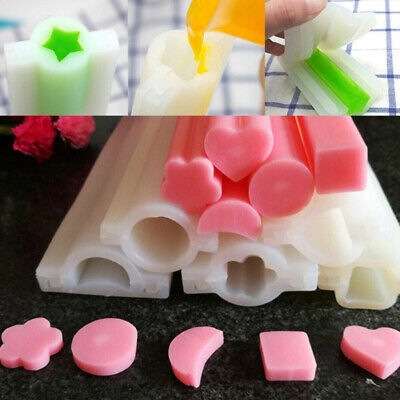 Embed Making Supplies Long Silicone Tube Column Mould Candle Soap Mould DIY • 8.52£