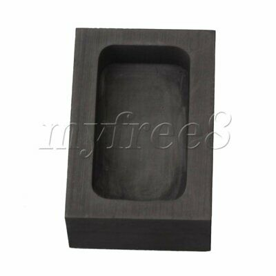 44.7x24x10mm Solid Crucible Graphite Oil Tank Industrial Accessory Black • 7.87£