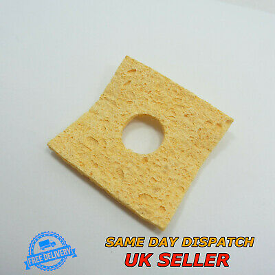 Soldering Iron Cleaning Sponge Pad 60x60x2.8mm Tip Welding Solder Iron • 4.39£
