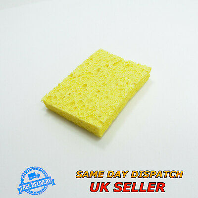 Soldering Iron Cleaning Sponge Pad 50.7x35.5x3mm Tip Welding Solder Iron • 6.19£