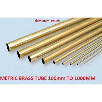 BRASS ROUND TUBE CZ108   5mm 8mm 10mm • 18.63£