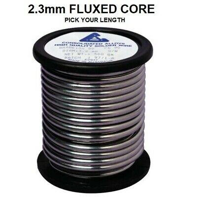 2.3mm Thick Soldering/Solder Wire Flux Cored DIY Electronics 60/40 Tin  • 15.99£