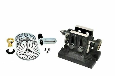 Indexing Plate Dividing Plate Set With Tailstock Double Bolt For HV4 And HV6 • 96.79£