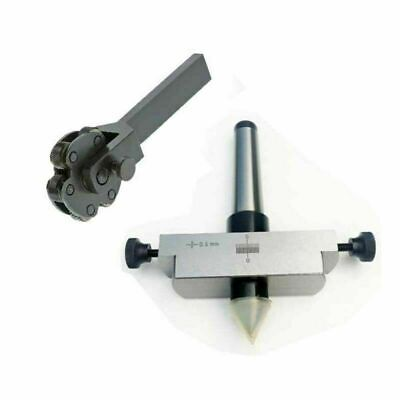 Taper Turning MT2 Shank For Lathe Tailstock With Knurling Tool 6 Knurl • 56.14£