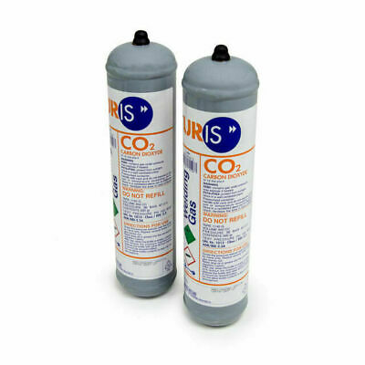 2 X CO2 Welding Gas For MIG Welding Disposable Cylinder 100% Pure CO2 • 30£