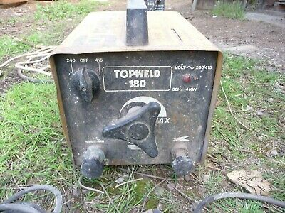 Sip Topweld 180 Arc Stick Welder 240v And 440v Used • 25£