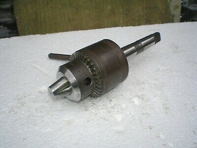 Drill Chuck 2 Morse Taper Belco Engineers Tooling Bench Drill Pillar Drill • 20£