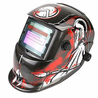 FIXKIT Solar Powered Welding Helmet Automatic Darkening And Eye-protecting Mask • 37.26£