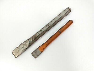 Bundle 2 X Vintage Heavy Duty Stainless Steel Cold Chisels Spear & Jackson / CK • 12.99£