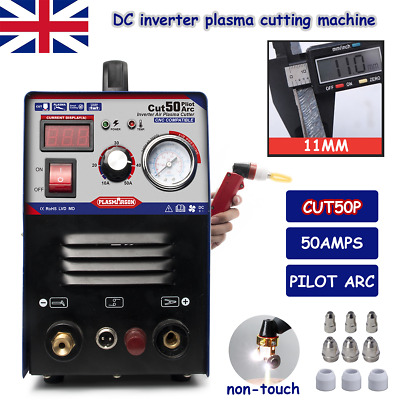 50Amps Plasma Cutter Machine Pilot ARC CNC Compatible Plasma Cutting Accessoires • 178£