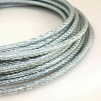 Wire Rope Stainless Steel 7x7 And 7x19 V4A 316 1.4401 Cord Dia 1-8mm 5-250 Meter • 15.83£