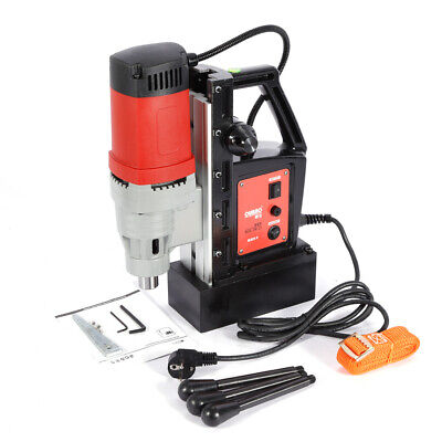 220v 1400w Magnetic Drill Press Drilling Tapping Machine Mag Drill Metal 13000n • 160.05£