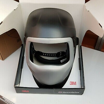 3M SPEEDGLAS 9100XXi SIDE WINDOWS WELDING SHIELD HELMET SHELL WITHOUT LENS NEW • 89.99£