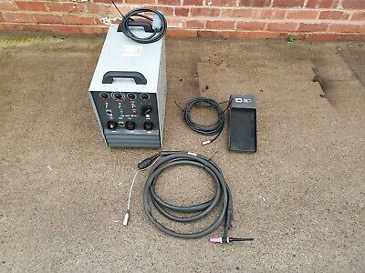 SIP TIG 160 Welder With Foot Pedal Control 16A Plug ARC And TIG Welder • 1,000£