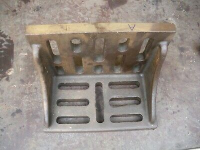 Engineers Angle Plate Cast Iron 10 X 8  X 6   Block Milling Drilling (A) • 85£