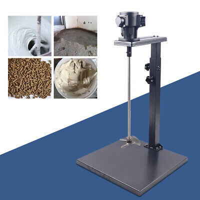 1/4HP 20L Pneumatic Paint Mixer Machine Ink Coating Agitator Blender With Stand • 110.46£