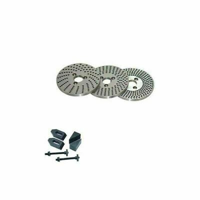 Dividing Plates 4  100 Mm Indexing Plate With Clamping Kit M8 • 49.89£