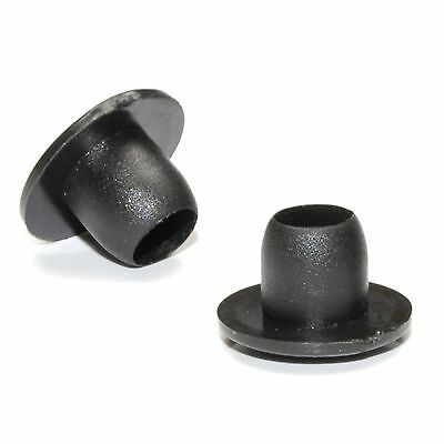 24 X 10mm Black Hole Blanking Decorative Finishing Plug • 4.50£