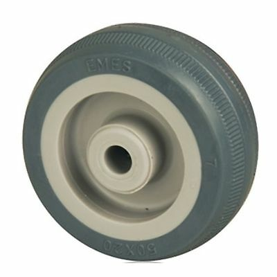 Set Of 4 - 75mm Thermoplastic Wheels Plain Bore - Replacement Wheels Casters • 10£