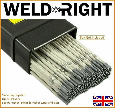 Weldright General Purpose E6013 Arc Welding Electrodes Rods 1.6-5.0mm 5-100 Rods • 17.99£