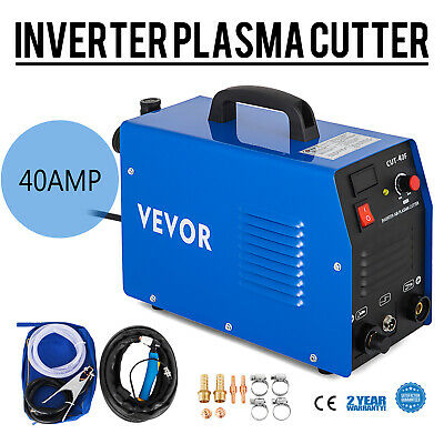 Plasma Cutter CUT-40F Integrated Air Inverter 40 A 230 V 12mm Cut Cutting • 133.97£