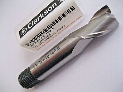 13mm SLOT DRILL MILL HSS M2 2 FLUTED 3012011300 EUROPA TOOL CLARKSON  56 • 9.43£