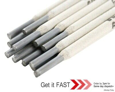 100x 1.6MM WELDING ARC E6013 RODS ELECTRODES MILD STEEL GENERAL PURPOSE • 12.97£