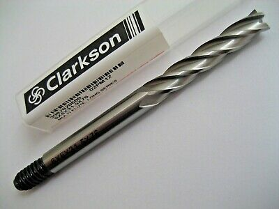 6mm LONG SERIES COBALT END MILL HSSCo8 M42 EUROPA TOOL CLARKSON 3082020600  P315 • 7.71£