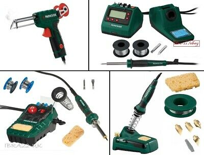 Choose From Our Parkside 30w To 48w Electric Soldering Iron Solder Gun Station  • 39.99£