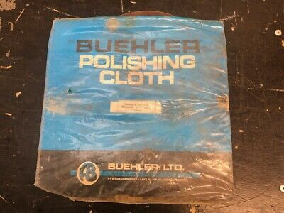 Buehler 40-7242 Microcloth Pack Of 8 Polishing Cloths For 12  Wheel • 22.50£