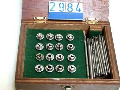Collet Set To 13/64  In Wooden Case (2984) • 120£