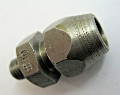 No40  2.5mm 1/4 - 28 AIRCRAFT TOOLS THREADED COLLETS NUMBERED  P325 • 6.99£