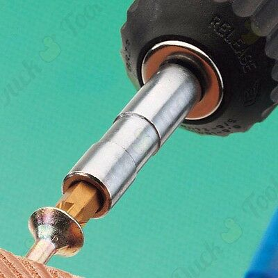 MAGNETIC BIT HOLDER Standard 1/4  Shank Easy Release Power Drill Extension Bar • 9.19£