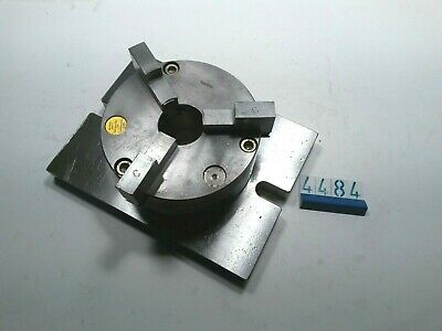 3 Jaw Chuck On 25 X 19 Cm Clamping Base (4484) • 50£