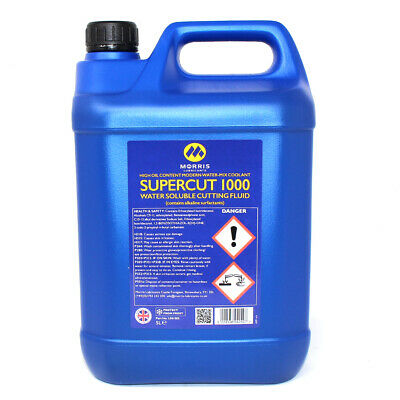 Morris Supercut 1000 Water Soluble Cutting Fluid High Oil Content Coolant • 32.99£