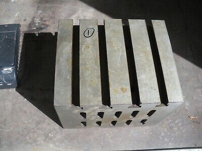 Engineers Cube Box Plate Angle Plate T Slotted Cast Iron 12 X 10 X 9  Block (1) • 200£