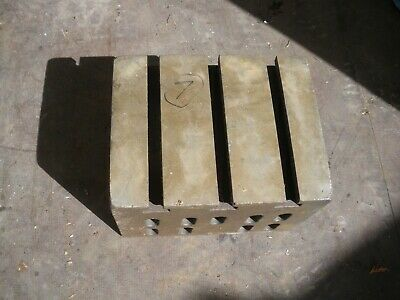 Engineers Cube Box Plate Angle T Slotted Cast Iron 9  X 7  X 6  Block (7) • 110£