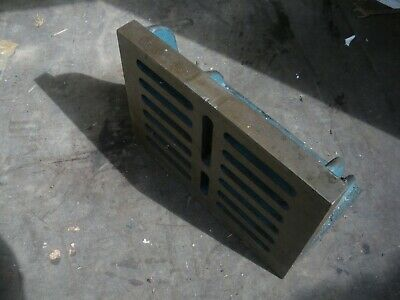 Engineers Angle Plate  Cast Iron 16  X 12  X 9  Block Milling Drilling (8) • 120£