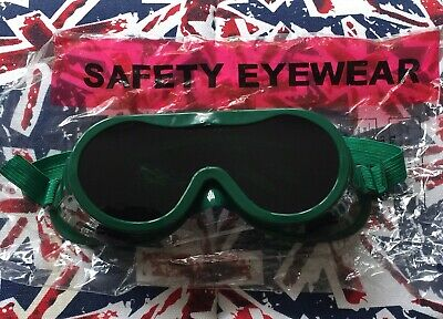 Panorama Shade 1 Green Gas Welding & Brazing Goggles Indirect Vent • 5.99£