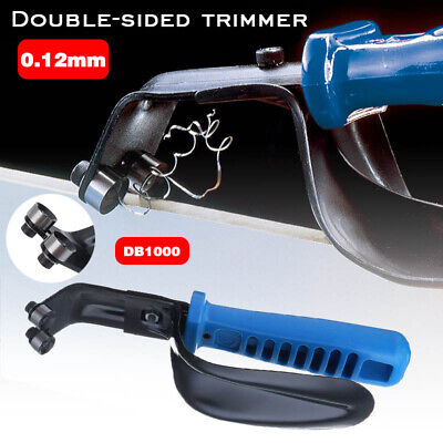 For Double Sided Sheet Metal Portable Deburring Tool High Speed Steel • 10.99£