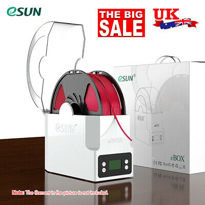 ESUN EBOX 3D Printer Filament Holder Storage Dry Measuring Weight Box Dryer B3C2 • 50.69£
