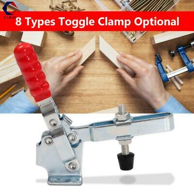 8 Types Toggle Clamp Holding Capacity Horizontal Quick Release Galvanized Iron • 20.99£
