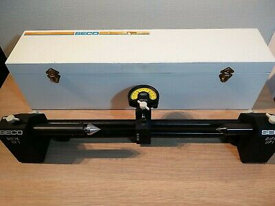 SECO SF-1 Precision Bench Centre C/w Mahr Federal Millimess Dial Test Indicator. • 150£