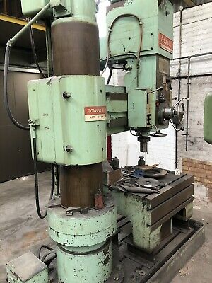 Asquith Radial Arm Drill Power Thrust 4 Pt 14 54 • 2,500£