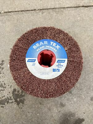 Bear Tex Coarse Abrasive Flap Wheel 100mm X 100mm X 19mm • 9£