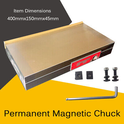 Permanent Magnetic Chuck Powerful Rectangular Chuck For Grinding Machine 400mm • 169.23£